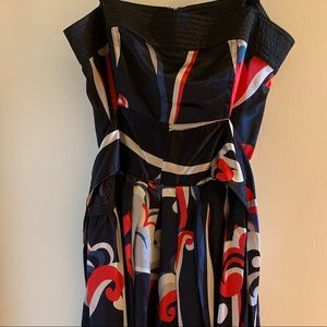Double Zero Tie Dress with Pockets